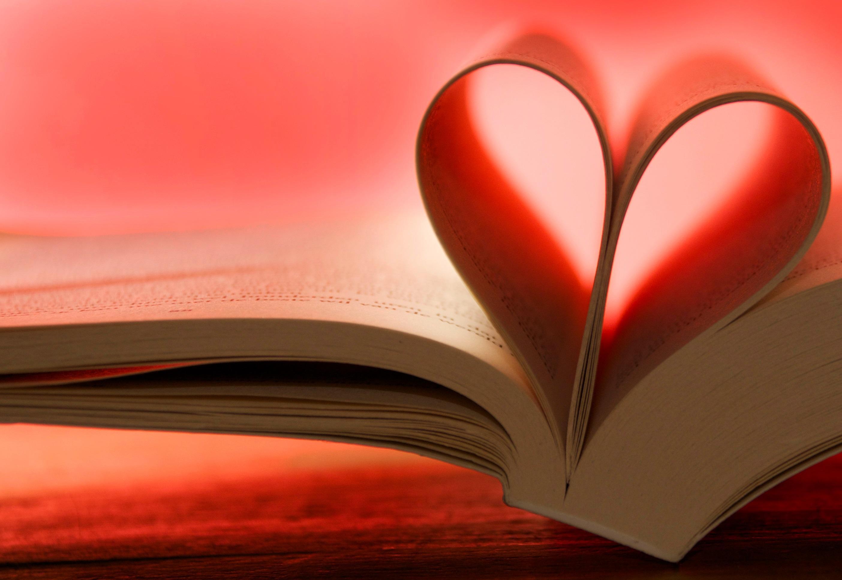 Картинки о книгах и любви