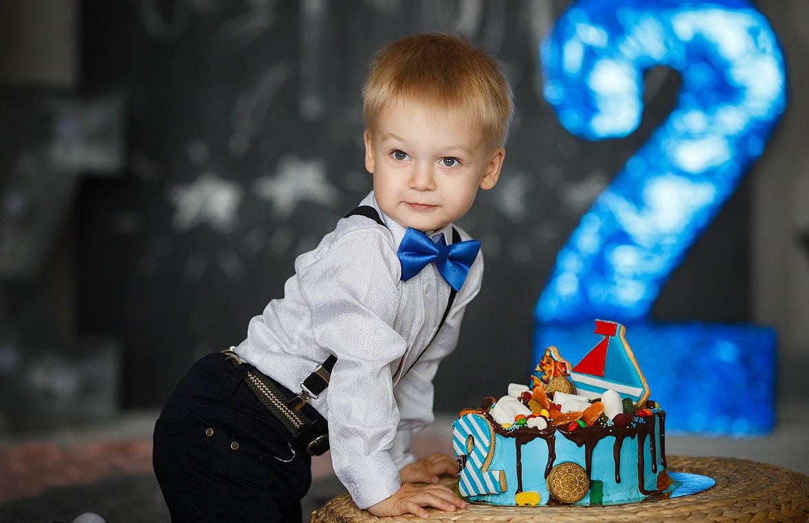 Поздравление ребенку на 2 годика мальчику своими словами