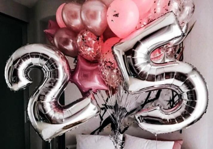 Поздравление подруге с днем рождения 25 лет прикольные